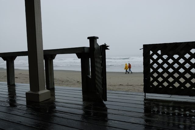 Stinson Beach in The Rain