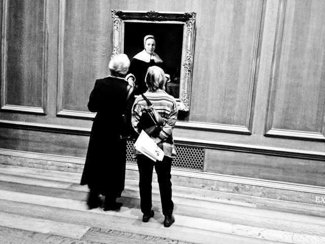 Admiring, National Gallery of Art