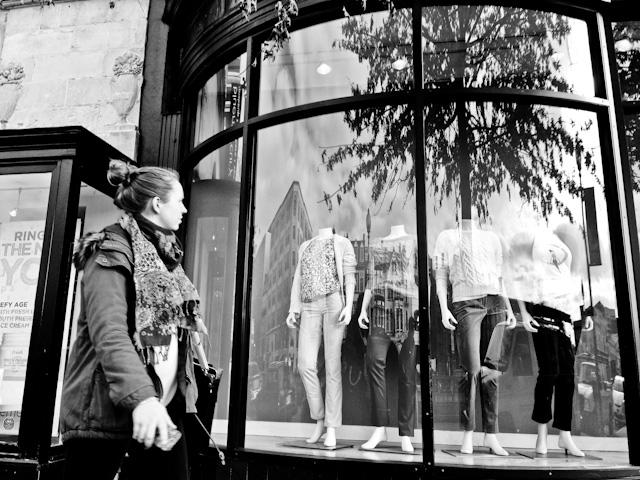 Window shopping in Dupont Circle, Washington DC