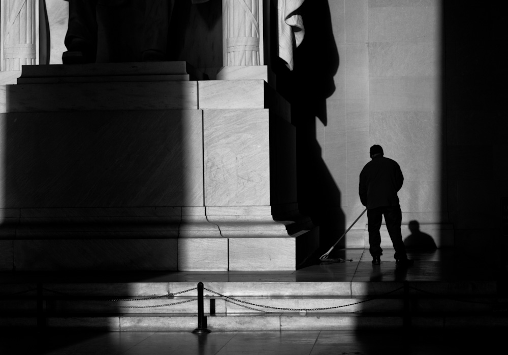washington dc, lincoln memorial
