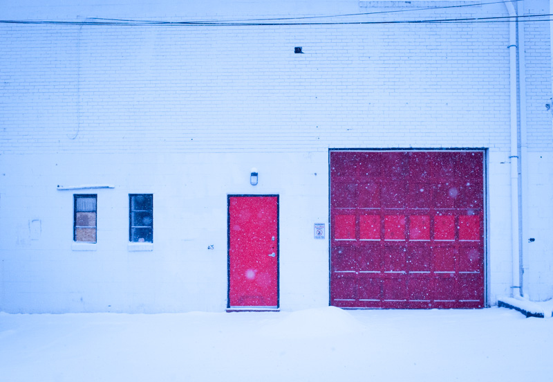 Winter scene. Kensington, MD.