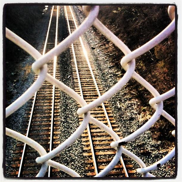 railroad tracks in kensington, maryland