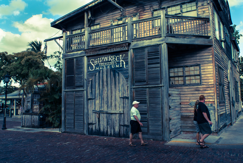 key west. shipwreck treasures museum.