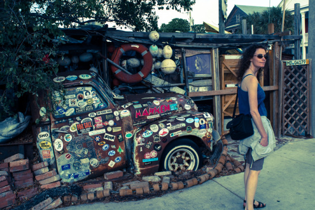 key west. B.O.s fish wagon.
