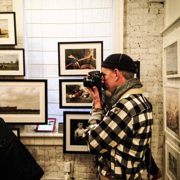 michael kircher at brickworks gallery in Atlanta, GA.