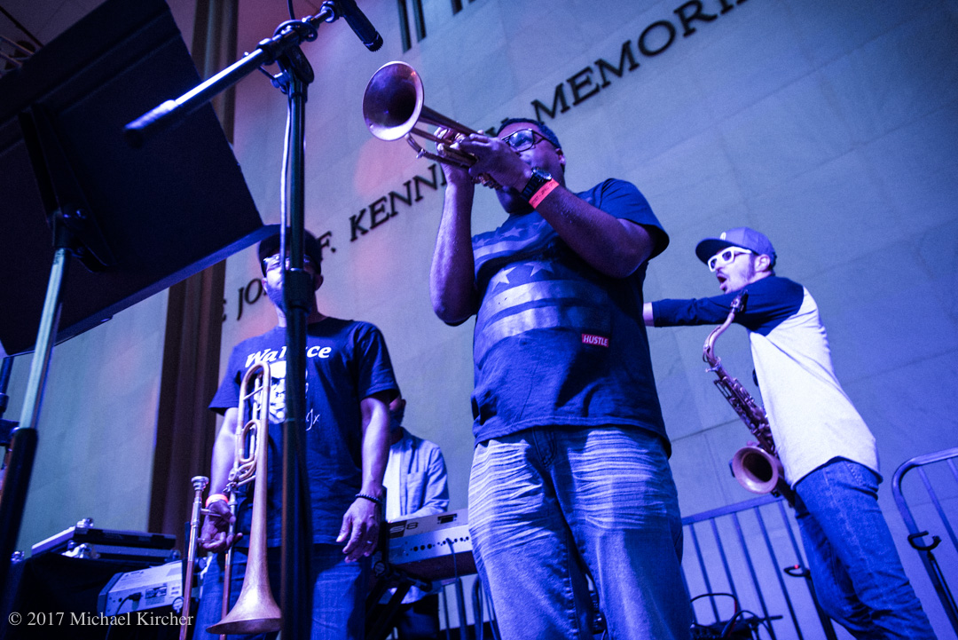 The JoGo Project. Donvonte McCoy on trumpet.