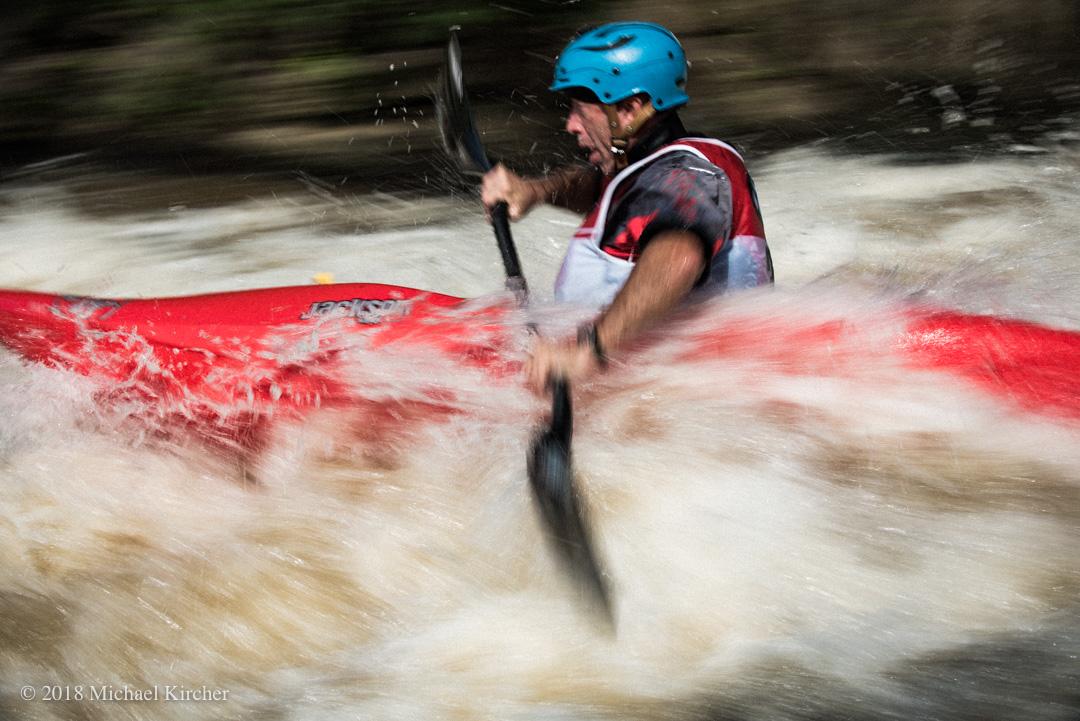 Jason Beakes, extreme Kayaker.
